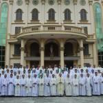 Linh mục đoàn giáo phận Bắc Ninh kết thúc Tuần Tĩnh Tâm năm 2014.